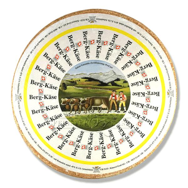 Schweizer Berkäse aus der Ostschweiz